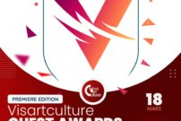 L'affiche annonçant la première édition des Visartculture Ouest Awards à Dschang