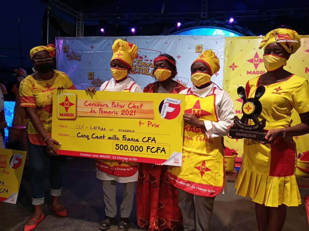 Le cafrad de Bonabéri remporte le premier au concours culinaire Futur Chef