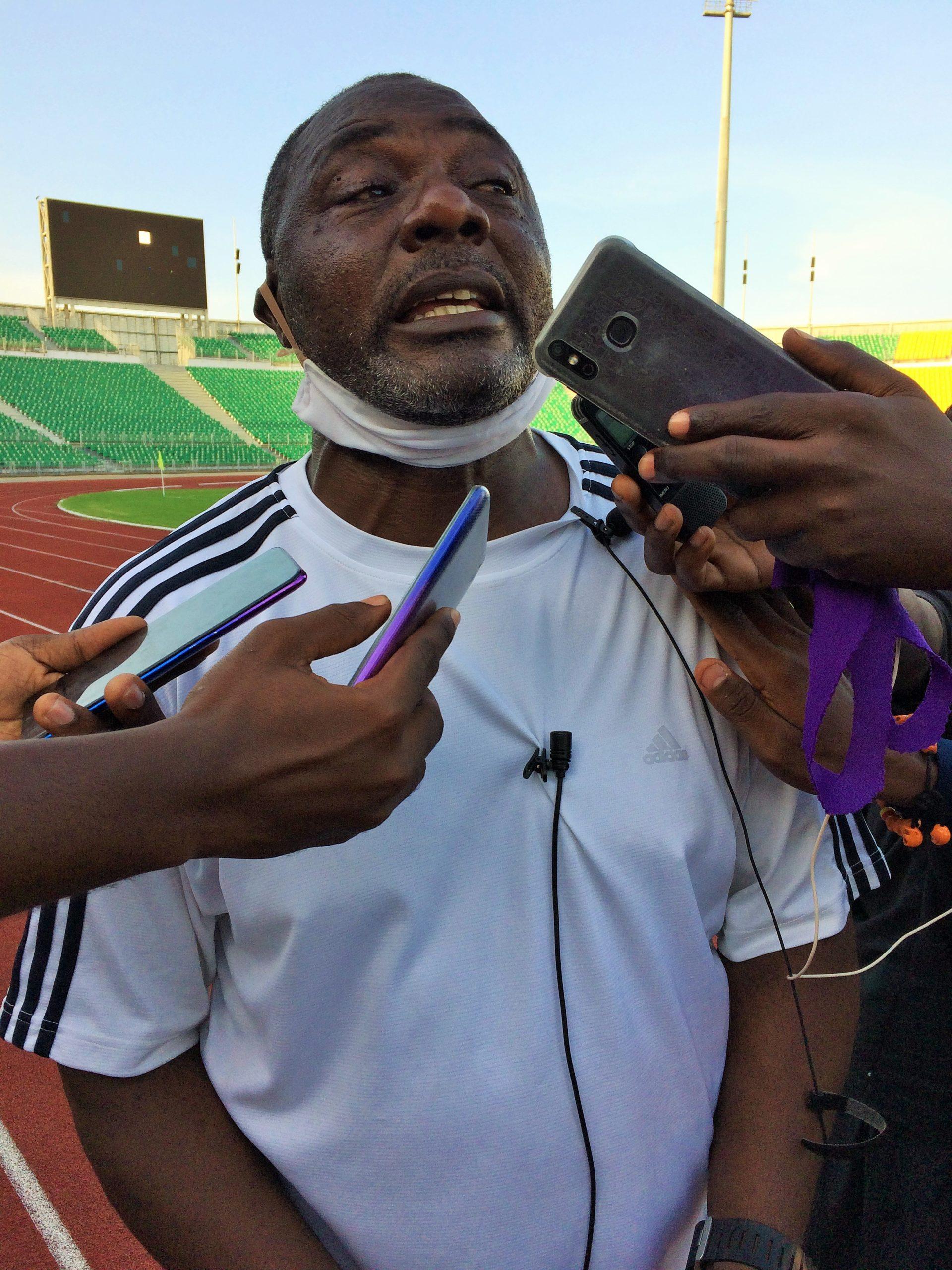 Jean Dieudonné Nke, coach d'Ums de Loum