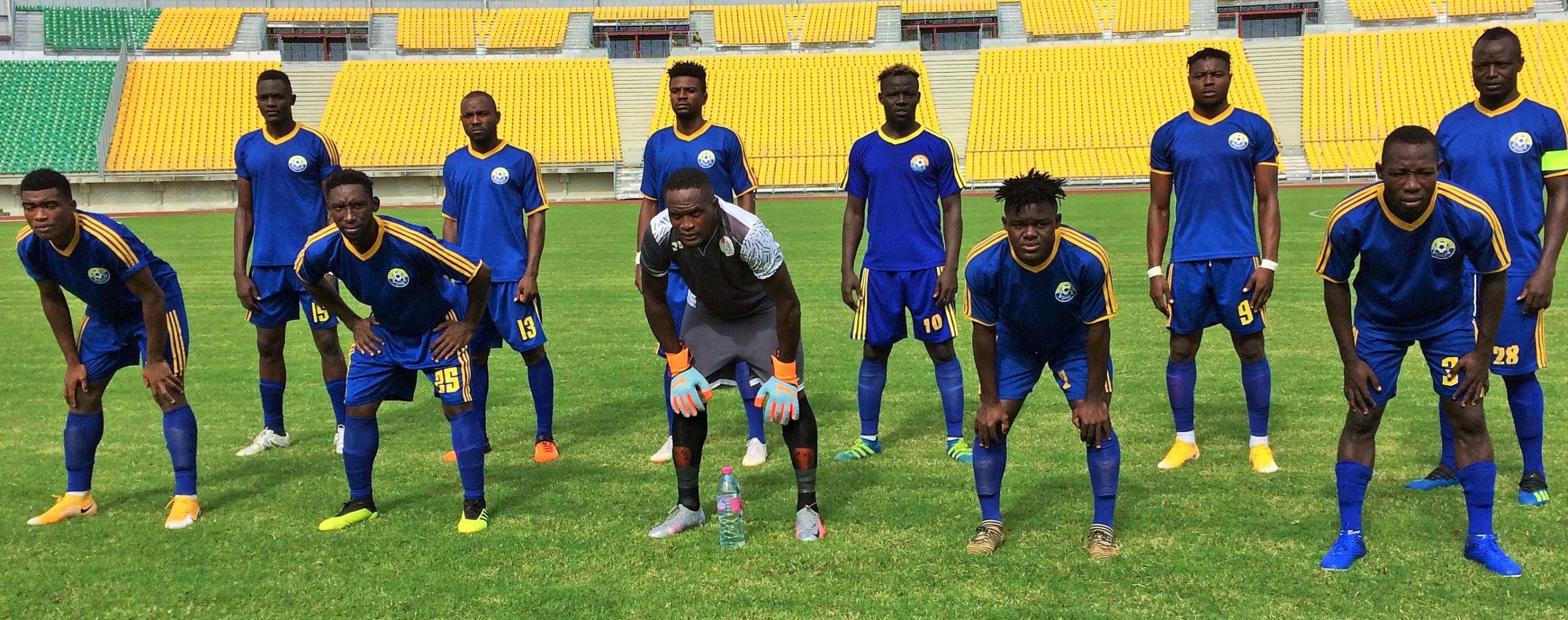 L'équipe d'Ums de Loum qui a battu le Canon Sportif de Yaoundé