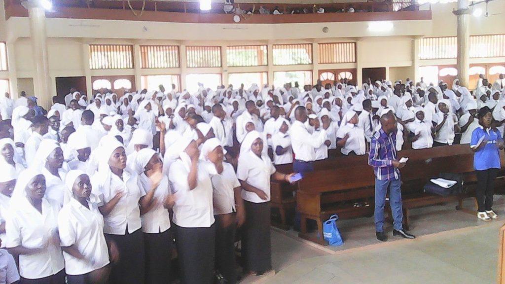 des femmes dans une église au cameroun. (Photo d'archives)