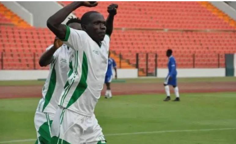 Lambert Araina Gueme, meilleur buteur de la phase aller de l'Elite One au Cameroun (photo 237 Online)