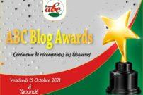 L'affiche annonçant la 1ère édition des ABC Blog Awards