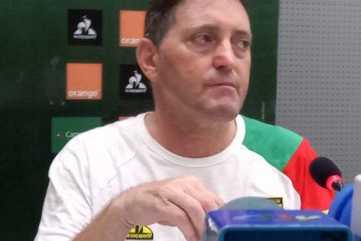 Toni Concecao, coach des Lions indomptables du Cameroun